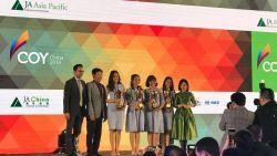 Empat Siswi SMA Pembangunan Jaya Sabet Juara 1 Kompetisi Asia Pacific Company of The Year Competition 2018