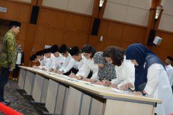 Lantik 58 Pejabat Fungsional, Sekjen Kemendikbud Minta Lebih Berkontribusi untuk Indonesia