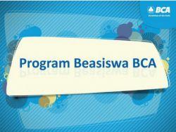 Dibuka Kembali Beasiswa BCA untuk Mahasiswa S1 Seluruh Indonesia