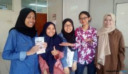 Bawa Biskuit Tempe, Mahasiswa FTP Lolos Kompetisi Pangan Dunia
