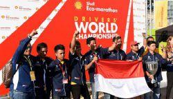 Mobil Buatan Mahasiswa ITS Surabaya Menangi Kontes Dunia