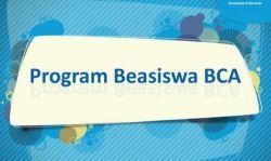 Program Ppa dan Ppti dari BCA Langsung Kerja 2018-2019