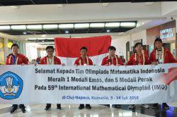 TIM Olimpiade Matematika SMA Indonesia Masuk Peringkat 10 Terbaik Dunia