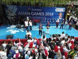 Meriahkan Asian Games 2018, Kemendikbud Gelar Jalan Sehat Bersama