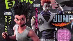 Gon dan Hisoka dari Hunter X Hunter Dipastikan Hadir di Jump Force!