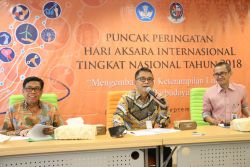Indonesia Peringati Hari Aksara Internasional Tahun 2018
