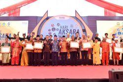 Puncak Acara Hari Aksara Internasional, Kemendikbud Berikan Penghargaan kepada Pemerintah Daerah