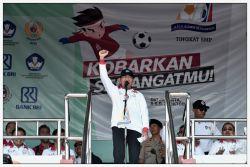 Mendikbud Buka Pertandingan Sepak Bola Gala Siswa Indonesia Tingkat Nasional Tahun 2018