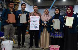 Genteng Berbahan Styrofoam Karya Mahasiswa UNDIP Raih Emas di Jerman
