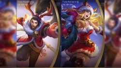 Rayakan Hari Natal, Mobile Legends Siap Rilis Skin Zilong dan Freya Spesial Natal!