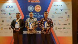 Kemendikbud Raih Tiga Penghargaan di Ajang Top IT dan Telco 2018