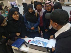 Tinggi, Minat Warga Arab Saudi Pelajari Bahasa Indonesia