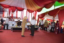 Mendikbud Serahkan Rp700 Miliar Lebih Dana Alokasi Khusus Pendidikan kepada Walikota Palembang