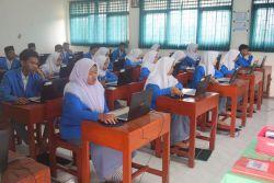 99,5 Persen Siswa SMK Jalani UN Berbasis Komputer