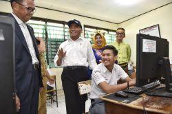 Ujian Nasional Jenjang SMA di Sulawesi Selatan 100 Persen Unbk