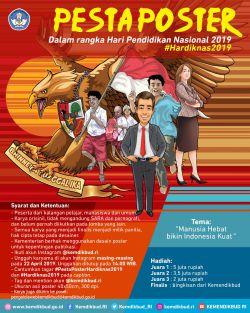 Lomba Desain Poster HARDIKNAS 2019