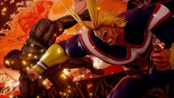 Makin Rusuh! Beginilah Aksi All Might dari My Hero Academia di Jump Force