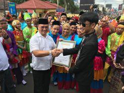 Tari Tradisional Campak Raih Rekor Dunia di Pekan Pendidikan dan Kebudayaan Tahun 2019