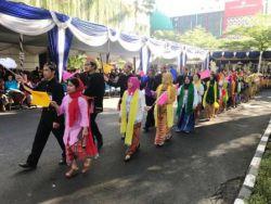 Barisan Bhinneka Tunggal Ika Warnai Peringatan Hari Pendidikan Nasional Tahun 2019