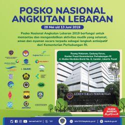 Instansi Pemerintah dan Stakeholder Terkait Siap Layani Angkutan Lebaran 2019