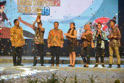 Jawa Tengah Juara Umum Lomba Kompetensi Siswa (LKS) SMK 2019