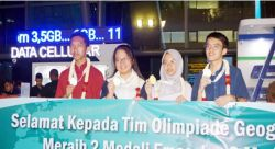 Taklukkan Amerika dan Inggris, Indonesia Juara Umum Olimpiade Geografi Internasional