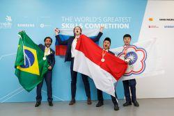 Siswa SMK Indonesia Memboyong 15 Medali pada World Skill Competition