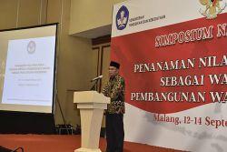 Simposium Nasional Penanaman Nilai Pancasila Hasilkan Empat Rekomendasi
