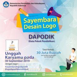 Sayembara Desain Logo Dapodik Kemendikbud