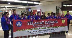 Pelajar Indonesia Raih Peringkat Pertama Kejuaraan Karate di Luxembourg