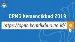 Seleksi Penerimaan CPNS Kemendikbud Tahun 2019