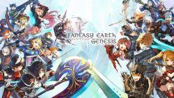 Mobile RPG 50v50 Buatan Square Enix dan Asobimo - Fantasy Earth Genesis, Buka Pra-Registrasi!